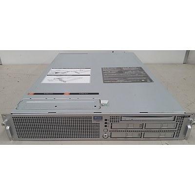 Sun Microsystems SPARC Enterprise M3000 SPARC64 VII+ 2.86GHz 2 RU Server
