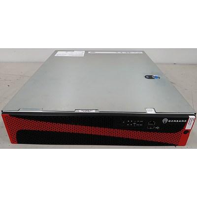 Genband IA-RMS Intelligent Application Dual 8-Core Xeon E5-2658 2.1GHz 2 RU Server - New