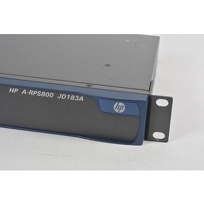 Hp RPS 800 A (JD183A) Redundant Power Supply - Brand New