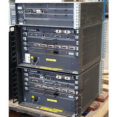 Cisco 7200 & 7500 Modular Switches - Lot of 3