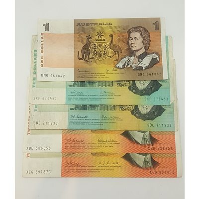 Collection of Australian Paper Notes
