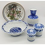 Group of Japanese Porcelain