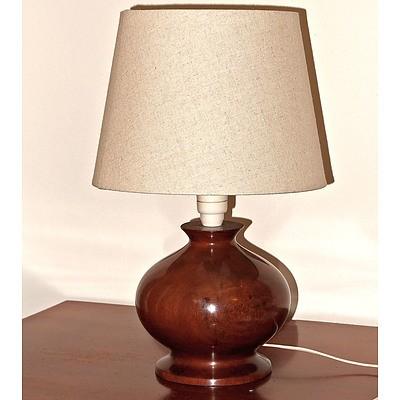 Cantor Craft Turned Australian Hardwood Lamp Base