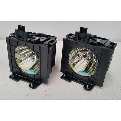 Panasonic ET-LAD57 Replacement Projector Lamp - Dual Pack