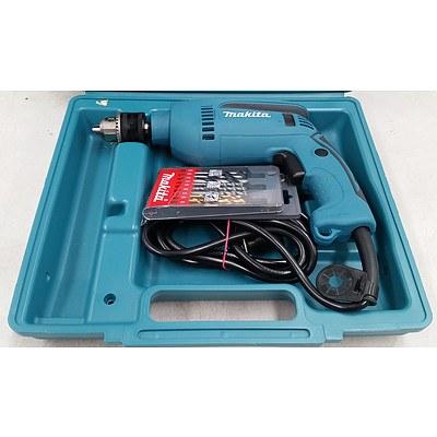 Makita HP1640KSP 680W Hammer Drill - RRP $139 - Brand New