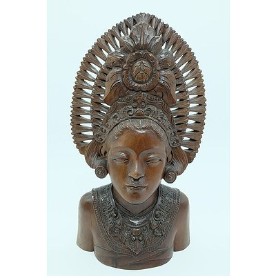 Balinese Bust Carving