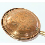 Antique Copper Bed Warming Pan