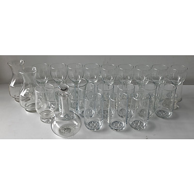 Bulk Lot of Various Glassware, Prints, Kitchenware and Others