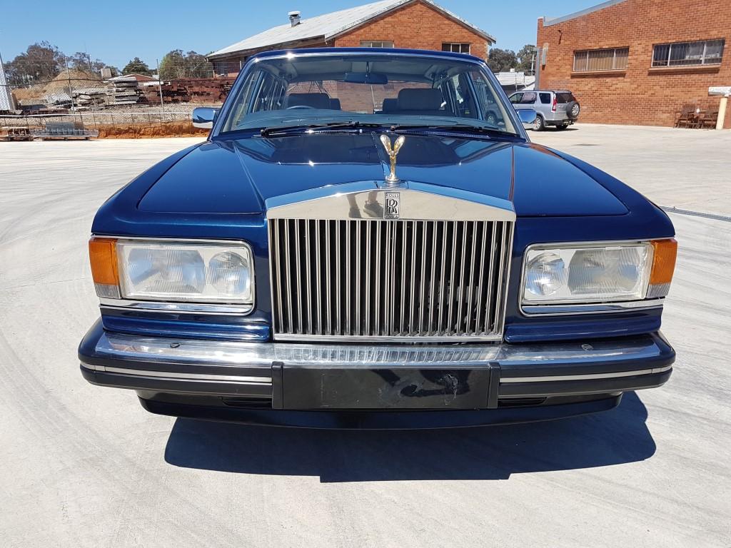 1/1988 Rolls-Royce Silver SPUR 4d Sedan Blue 6 8L