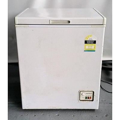 Centrex 150L White Chest Freezer