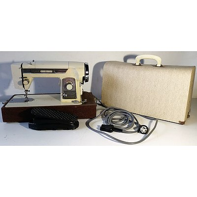 Vintage Empisal Expand-A-Matic Sewing Machine