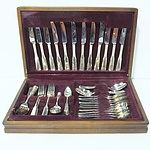 Boxed Viners Silver Plate Flatware Setting for Six