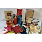 Collection of International Stamps, Booklets and Reference Guides