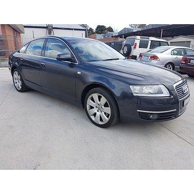 1/2006 Audi A6 3.2 FSI 4F 4d Sedan Grey 3.1L