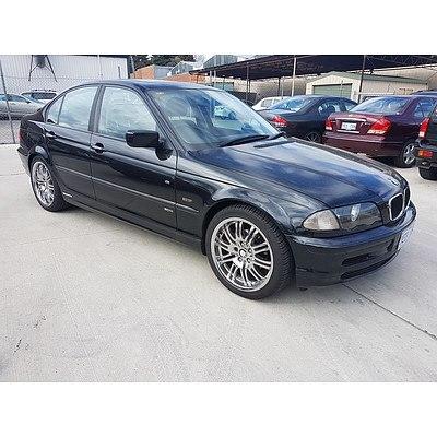 2/2001 BMW 318i Executive E46 4d Sedan Black 1.9L