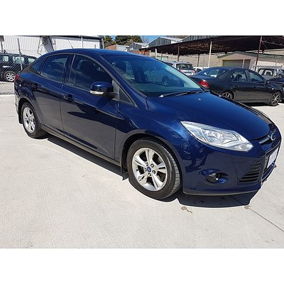 7/2011 Ford Focus Trend LW 4d Sedan Blue 2.0L