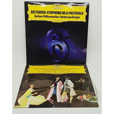 Group of 14 Vinyl Records Including Beethoven