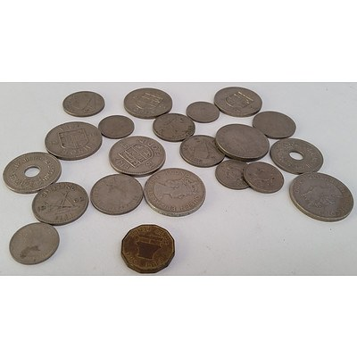 1953 - 1965 Fijian Coins x19