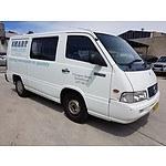 4/2000 Mercedes-Benz Mb 100  4d Van White 2.3L