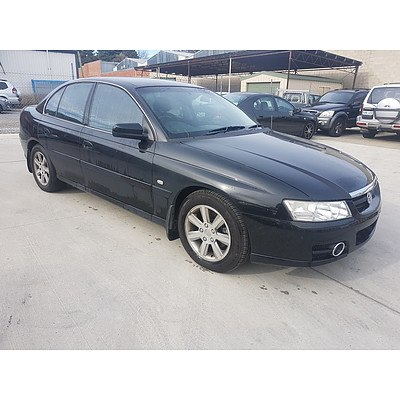 12/2005 Holden Berlina  VZ 4d Sedan Black 3.6L
