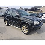 9/1999 Suzuki Grand Vitara Limited Edition (4x4)  4d Wagon Black 2.5L