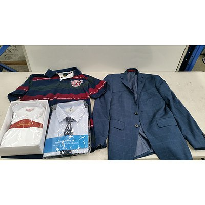 Bulk Lot of Brand New Men's Clothes - RRP Over $400