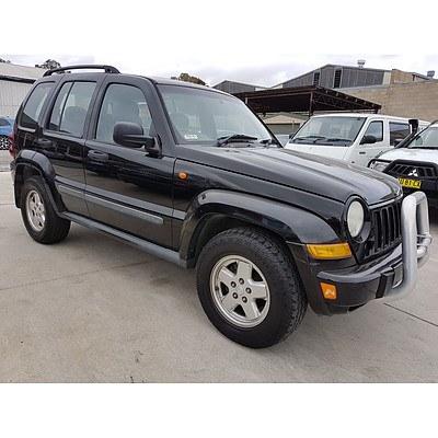 7/2007 Jeep Cherokee Limited (4x4) KJ MY05 UPGRADE II 4d Wagon Black 3.7L