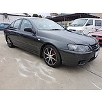 11/2006 Ford Falcon XT BF MKII 4d Sedan Grey 4.0L