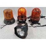 12v Orange Lights and Torch