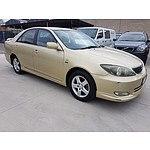 4/2003 Toyota Camry Sportivo ACV36R 4d Sedan Gold 2.4L