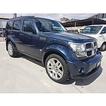 3/2008 Dodge Nitro SXT KA MY08 4d Wagon Blue 3.7L