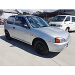 10/1998 Toyota Starlet EP91R 3d Hatchback Silver 1.3L