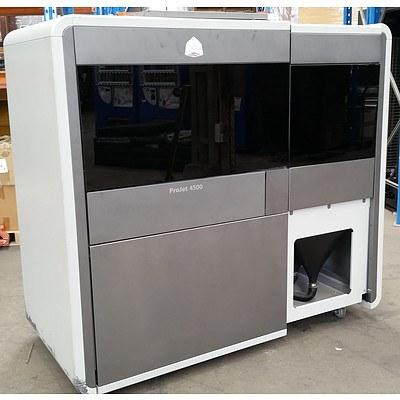3D Systems ProJet 4500 Full-Colour Plastic 3D Printer