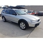 4/2006 Holden Adventra SX6 VZ MY06 4d Wagon Silver 3.6L