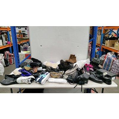 Bulk Lot of Brand New Unisex Shoes - RRP $400