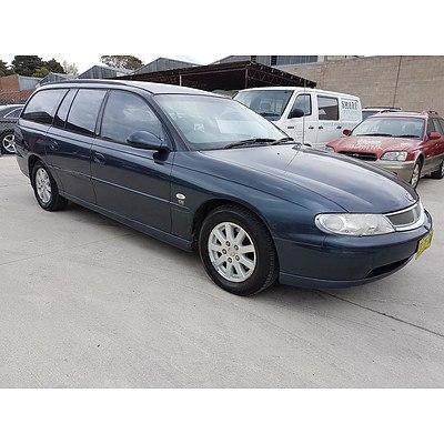 3/2001 Holden Berlina  VX 4d Wagon Grey 3.8L