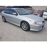 11/2003 Holden Commodore S VYII 4d Sedan Silver 3.8L