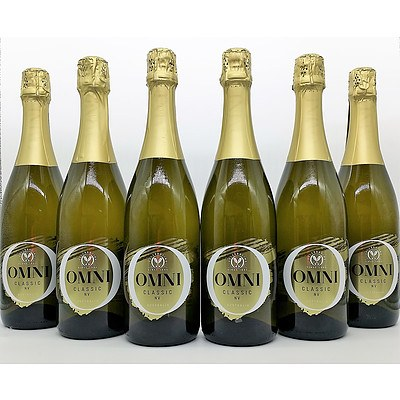 Lot of 6 Omni Classic Sparkling NV = RRP=$90.00