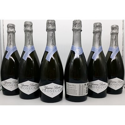 Lot of 6 Yarra Burn Prosecco NV = RRP=$120.00