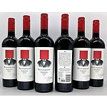 Lot of 6 St. Hallett's Blockhead Barossa Shiraz 2017 = RRP=$180.00
