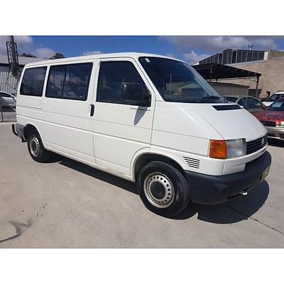 8/1997 Volkswagen Transporter  T4 Van White 2.0L
