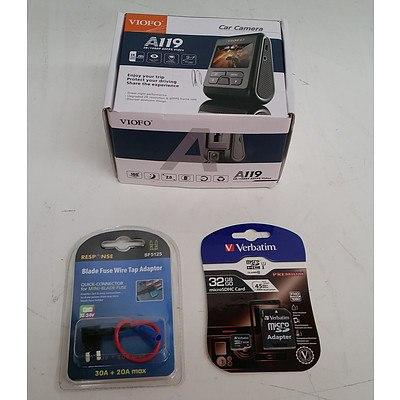 Viofo A119 2K/1080P 60FPS Video Car Camera