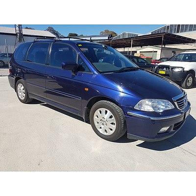 3/2003 Honda Odyssey V6  4d Wagon Blue 3.0L