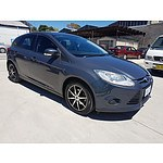 1/2012 Ford Focus Ambiente LW 5d Hatchback Grey 1.6L