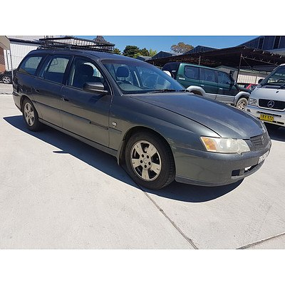 3/2004 Holden Commodore Executive VYII 4d Wagon Grey 3.8L