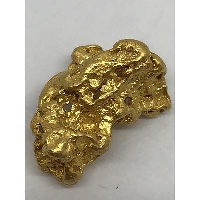 Genuine Natural Gold Nugget