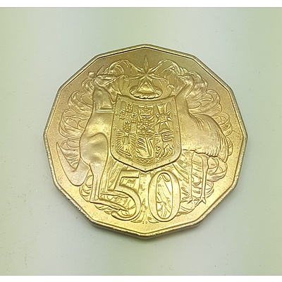 Double Bar Error Coin 1979 Fifty Cent Piece