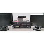 Professional AV Equipment Box Lot