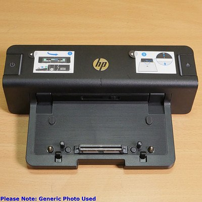 HP A7E32AA 90W Laptop Docking Station - Lot of Five *BRAND NEW / ORP: $279.00 each
