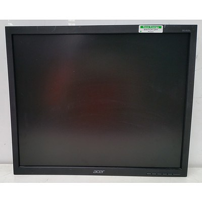 Assorted Dell & Acer 19-Inch LCD Monitors - Lot of 23